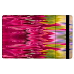 Abstract Pink Colorful Water Background Apple iPad 2 Flip Case