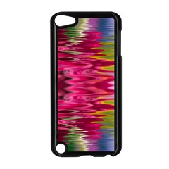 Abstract Pink Colorful Water Background Apple Ipod Touch 5 Case (black)