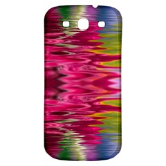 Abstract Pink Colorful Water Background Samsung Galaxy S3 S III Classic Hardshell Back Case