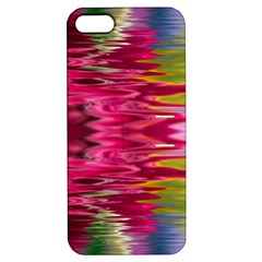 Abstract Pink Colorful Water Background Apple iPhone 5 Hardshell Case with Stand