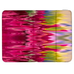 Abstract Pink Colorful Water Background Samsung Galaxy Tab 7  P1000 Flip Case
