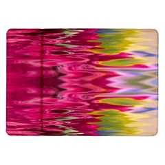 Abstract Pink Colorful Water Background Samsung Galaxy Tab 10.1  P7500 Flip Case
