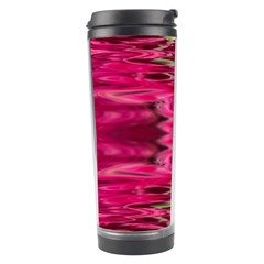 Abstract Pink Colorful Water Background Travel Tumbler