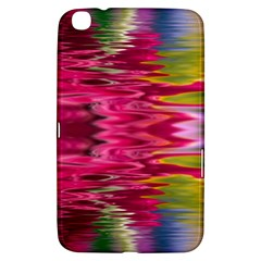 Abstract Pink Colorful Water Background Samsung Galaxy Tab 3 (8 ) T3100 Hardshell Case