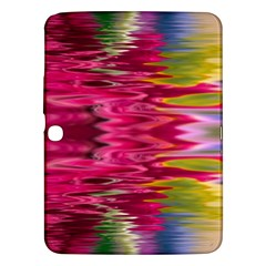 Abstract Pink Colorful Water Background Samsung Galaxy Tab 3 (10.1 ) P5200 Hardshell Case