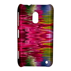 Abstract Pink Colorful Water Background Nokia Lumia 620