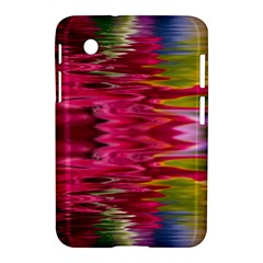 Abstract Pink Colorful Water Background Samsung Galaxy Tab 2 (7 ) P3100 Hardshell Case