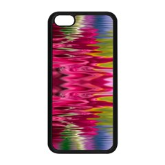 Abstract Pink Colorful Water Background Apple iPhone 5C Seamless Case (Black)