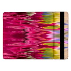 Abstract Pink Colorful Water Background Samsung Galaxy Tab Pro 12.2  Flip Case