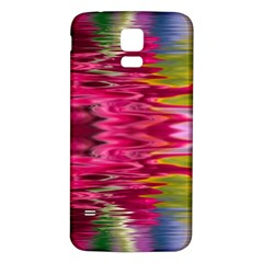 Abstract Pink Colorful Water Background Samsung Galaxy S5 Back Case (White)