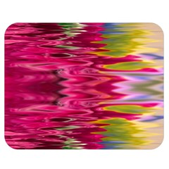 Abstract Pink Colorful Water Background Double Sided Flano Blanket (medium)
