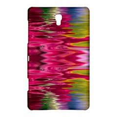 Abstract Pink Colorful Water Background Samsung Galaxy Tab S (8 4 ) Hardshell Case