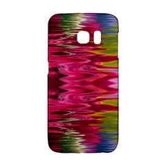 Abstract Pink Colorful Water Background Galaxy S6 Edge