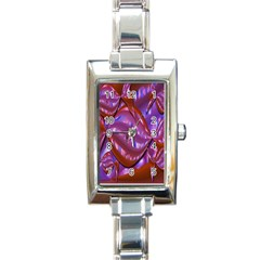 Passion Candy Sensual Abstract Rectangle Italian Charm Watch