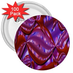 Passion Candy Sensual Abstract 3  Buttons (100 pack)