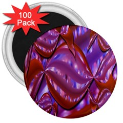 Passion Candy Sensual Abstract 3  Magnets (100 Pack)