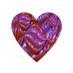 Passion Candy Sensual Abstract Heart Magnet