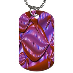 Passion Candy Sensual Abstract Dog Tag (Two Sides)