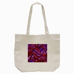 Passion Candy Sensual Abstract Tote Bag (Cream)