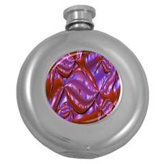 Passion Candy Sensual Abstract Round Hip Flask (5 Oz)