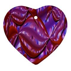 Passion Candy Sensual Abstract Heart Ornament (Two Sides)