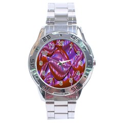 Passion Candy Sensual Abstract Stainless Steel Analogue Watch