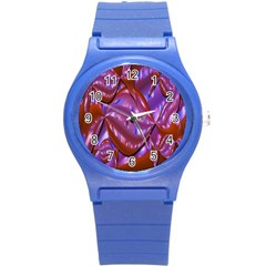 Passion Candy Sensual Abstract Round Plastic Sport Watch (S)
