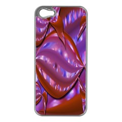 Passion Candy Sensual Abstract Apple iPhone 5 Case (Silver)