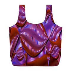 Passion Candy Sensual Abstract Full Print Recycle Bags (L)