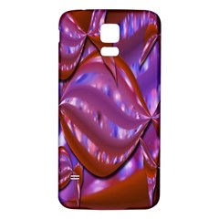 Passion Candy Sensual Abstract Samsung Galaxy S5 Back Case (White)