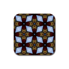 Abstract Seamless Background Pattern Rubber Coaster (square)