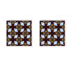Abstract Seamless Background Pattern Cufflinks (square)