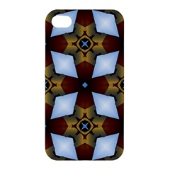 Abstract Seamless Background Pattern Apple iPhone 4/4S Premium Hardshell Case