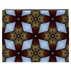 Abstract Seamless Background Pattern Cosmetic Bag (xxxl)