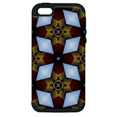 Abstract Seamless Background Pattern Apple iPhone 5 Hardshell Case (PC+Silicone)