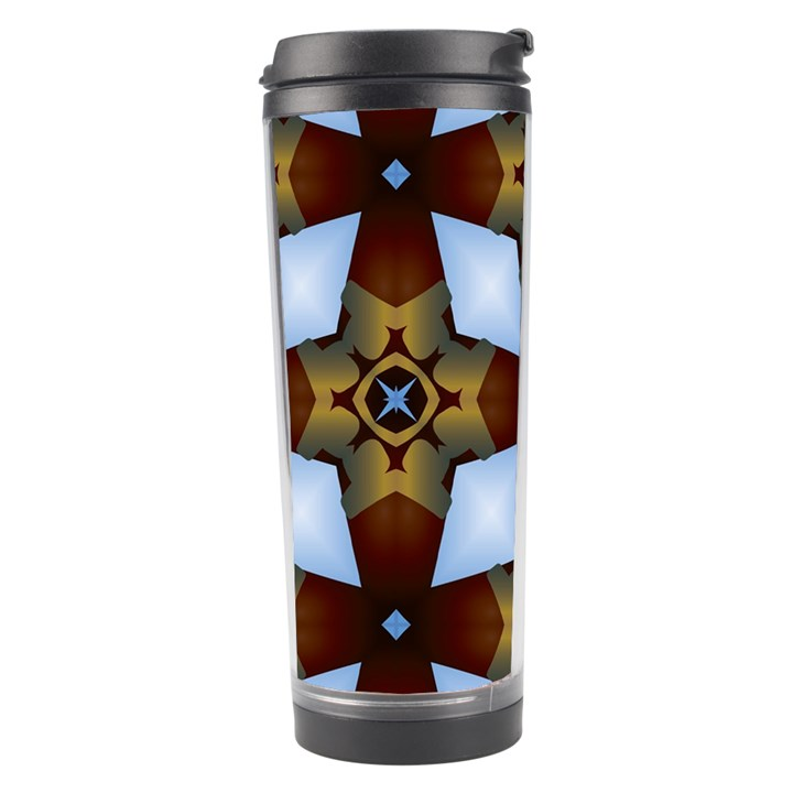 Abstract Seamless Background Pattern Travel Tumbler