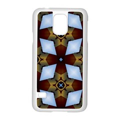 Abstract Seamless Background Pattern Samsung Galaxy S5 Case (White)