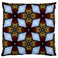 Abstract Seamless Background Pattern Large Flano Cushion Case (Two Sides)
