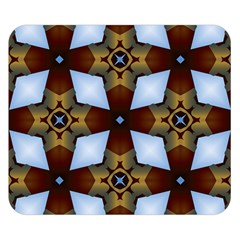 Abstract Seamless Background Pattern Double Sided Flano Blanket (small)