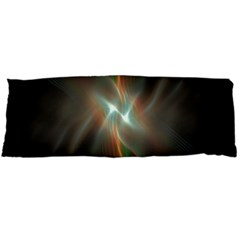 Colorful Waves With Lights Abstract Multicolor Waves With Bright Lights Background Body Pillow Case (Dakimakura)