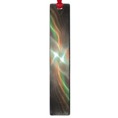 Colorful Waves With Lights Abstract Multicolor Waves With Bright Lights Background Large Book Marks