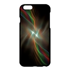 Colorful Waves With Lights Abstract Multicolor Waves With Bright Lights Background Apple iPhone 6 Plus/6S Plus Hardshell Case