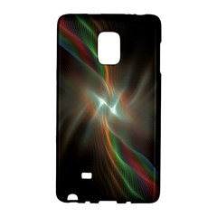 Colorful Waves With Lights Abstract Multicolor Waves With Bright Lights Background Galaxy Note Edge