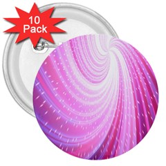 Vortexglow Abstract Background Wallpaper 3  Buttons (10 Pack)