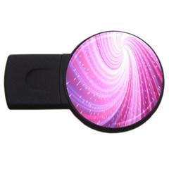 Vortexglow Abstract Background Wallpaper USB Flash Drive Round (1 GB)