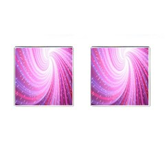 Vortexglow Abstract Background Wallpaper Cufflinks (square)