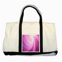 Vortexglow Abstract Background Wallpaper Two Tone Tote Bag