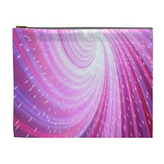 Vortexglow Abstract Background Wallpaper Cosmetic Bag (xl)