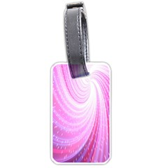 Vortexglow Abstract Background Wallpaper Luggage Tags (two Sides)