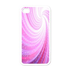 Vortexglow Abstract Background Wallpaper Apple Iphone 4 Case (white)